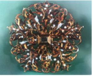 Mediados del siglo XVII en oro y diamantes (Alemania)